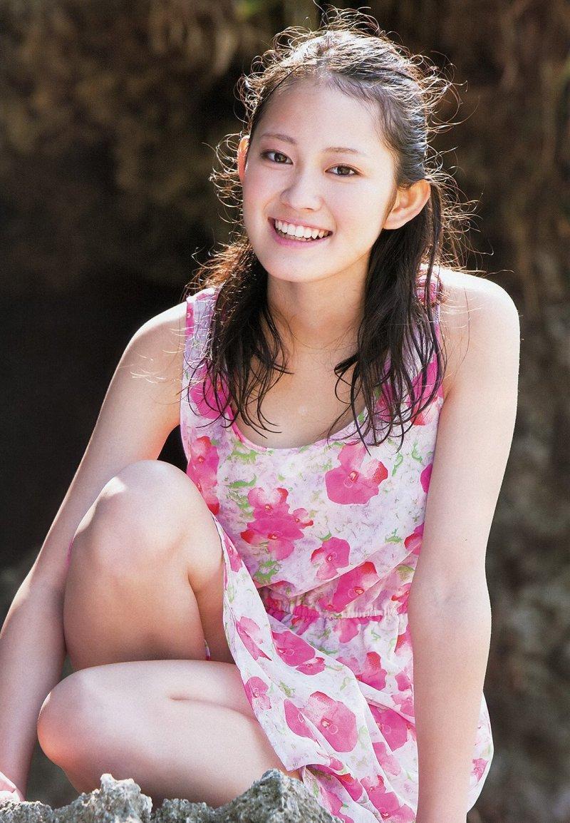福田沙紀さんの水着